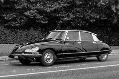 Back to the Past (Roberto Braam) Tags: ds french voiture car vehikel haifisch old blackandwhite monochrome vehicle classic oldtimer european goddess outdoor déesse scenery spotting strijkijzer vintage snoek europe