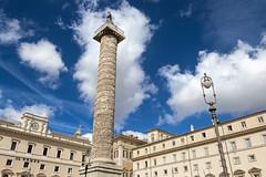 colonne de Marc Aurèle (nietsab) Tags: vert colonne marc aurele trajan rome roma italy italie blue sky nietsab canon 600d