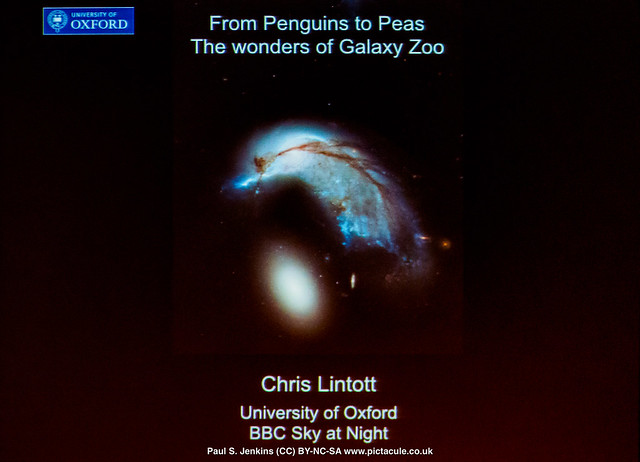From Penguins to Peas : The Wonders of Galaxy Zoo - with Chris Lintott at Winchester Skeptics, 31 August 2017