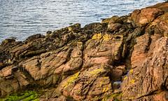 Cumbrae A Sandstone Shoreline (Half A Century Of Photography) Tags: scotland scenery water cumbrae isleofcumbrae greatcumbrae ayrshire northayrshire pentax