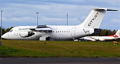 EI-RJO CITIJET AVRO EJ-85 NEWCASTLE (toowoomba surfer) Tags: airline airliner aviation aircraft jet aeroplane ncl egnt