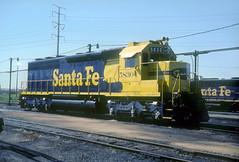AT&SF SD45-2u 5830 (Chuck Zeiler) Tags: atsf sd452u 5830 railroad emd locomotive corwith chicago chuckzeiler chz