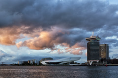EYE Film Institute Amsterdan (canonixus1) Tags: eye filminstitute amsterdan paisesbajos holanda cielo sky city cityscape canonixus1 canon6d canon1740 nubes clouds arquitectura atardecer