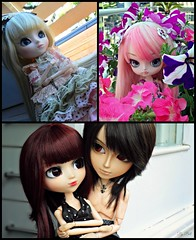 Tag - Evolução (♪Bell♫) Tags: pullip romantic alice pink bloody red hood taeyang suzumura rei dal loa groove doll