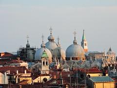 Basilica di San Marco seen from Fondaco dei Tedeschi, Venice