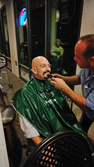 "Celebratory head shave for St. Baldrick's after surpassing the fundraising goal. • <a style=""font-size:0.8em;"" href=""http://www.flickr.com/photos/131449174@N04/37513687241/"" target=""_blank"">View on Flickr</a>"