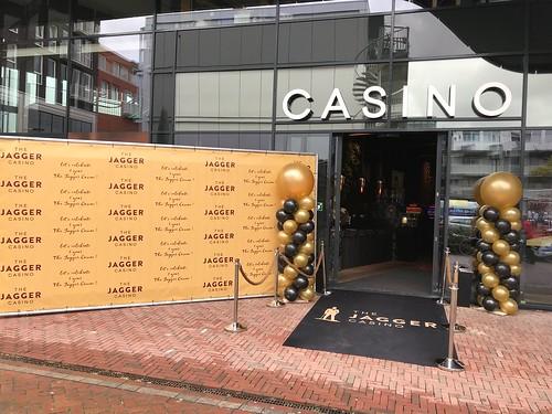 Ballonpilaar Breed Rond Jagger Casino Spijkenisse