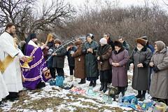 09. Первое водоосвящение в с. Адамовка