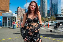 ComicCon2017-4(NYC) (bigbuddy1988) Tags: woman costume blue sky city new usa manhattan digital newyork people portrait photography comiccon comiccon2017 comicconnyc