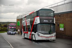 holt it there (D Stazicker Photography) Tags: sk17hhc wrights streetdeck demo first leeds new buses