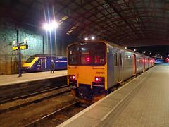 150106 Penzance (2) (Marky7890) Tags: 150106 class150 sprinter gwr 43193 class43 hst 1c84 penzance railway cornwall cornishmainline train