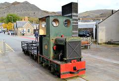 2207 (R~P~M) Tags: train railway narrowgauge wales cymru uk unitedkingdom greatbritain hudson hunslet diesel blaenaufestiniog gwynedd