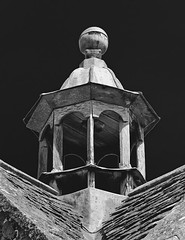 Pinnacle. (Martyn.A.Smith LRPS) Tags: monochrome building woodwork roof pinnacle dovecote outdoors structure chastleton oxfordshire englanduk fujifilm xt2
