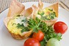 Veggie Eggie Wonton Muffins
