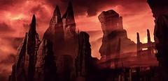 """Desolation"" (L1netty) Tags: pc games gaming reshade screenshot idsoftware doom 8k color video game bethesdasoftworks red srwe outdoor landscape sky rocks"