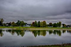 Autumn Reflections (kendoman26) Tags: hdr nikhdrefexpro2 autumn autumncolors fall fallcolors fallcolor reflection nikon nikond7100 tokinaatx1228prodx tokina tokina1228 morrisillinois