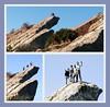 montatge (lletresynombres) Tags: agulles agujas benicasim muntanya montaña senderismo crestas castellón dit