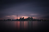 island view (Marc McDermott) Tags: toronto ontario canada islands algonguin lakeontario sunset overcast cn tower reflection7
