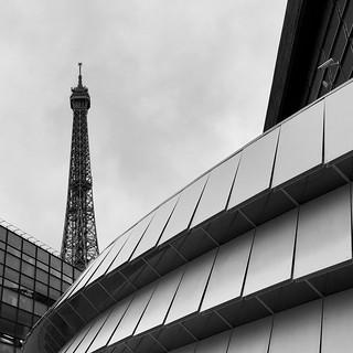 La Tour Eiffel depuis le musée du Quai Branly