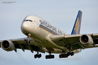 9V-SKP Singapore Airlines Airbus A380-800