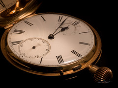 Passing of hours, minutes and seconds... (paulstewart991) Tags: canon70d canadian watch pocketwatch antiques time stilllife reflection closeup