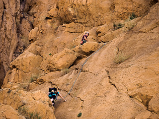 Morocco Todra gorges climbing