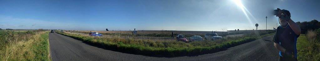 Leaving from Aldeburgh beach