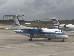 PT DH8A CLT (Luis Fernando Linares) Tags: aviation avgeek airport airlines american eagle heritage turboprop dash bombardier dh8a planespotting piedmont pdt pt charlotte clt kclt