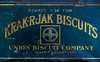 Krak-R-Jakrs (Junkstock) Tags: advertisement advertising aged artifact artifacts altebenutztegegenstände americana antique antiques blue color distressed decay decayed graphics graphic logo nostalgic nostalgia old oldstuff oldusedobjects patina relic typography type text vintage