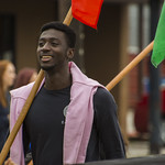 "<b>Homecoming Parade</b><br/> Nana Apeatu from Ghana (ISAA) celebrated the diversity at Luther College by walking the homecoming 2017 parade. October 7 2017. Photo by Hasan Essam Muhammad<a href=""http://farm5.static.flickr.com/4487/37724117312_617bd45a19_o.jpg"" title=""High res"">∝</a>"