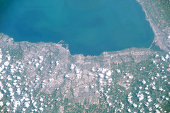 Toronto, Canada (astro_paolo) Tags: toronto canada earthfromspace vitamission spacestation city land clouds greatlakes