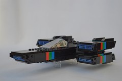 Raycaster (GeekPerson) Tags: lego space spaceship ship future futuristic retro moc raycaster geekperson