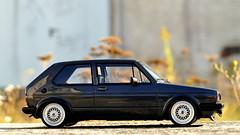 1:18 Otto Mobile - VW Golf I GTI (vwcorrado89) Tags: 118 1 18 otto mobile ottomobile vw volkswagen golf rabbit gti 16v bbs tuning stance resin resine model modelcar scale scaled scalecar scalemodel