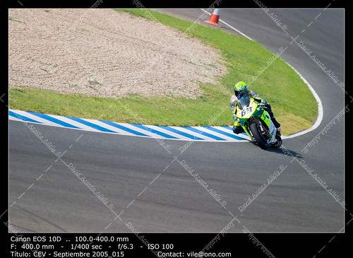 Pilot of motorcycling of Formula Extreme in the Spanish champion