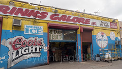 Drinks Galore Building Mural at 1331 Jerome Avenue, Bronx, New York City (jag9889) Tags: 2017 20171015 al allamericacity americanleague architecture baseball baseballteam beer bombers bronx building concourse coors graffiti house ice jeromeavenue majorleaguebaseball mural ny nyyankees nyc nyy newyork newyorkcity newyorkyankees outdoor painting pinstripes southbronx streetart tagging text thebronx thebronxbombers theyanks usa unitedstates unitedstatesofamerica wall yankees jag9889