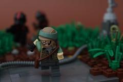 Still alive... (Jan, The Creator) Tags: inferno squad lego starwars star wars endor rebel trooper battlefront ii