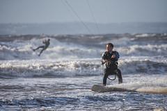 Rest Bay - Kite Surfer (livin the dream*) Tags: kitesurfer restbay porthcawl wales welshsurf stormbrian coastallifewales welshcoast surfing extremesports birthdaykitesurfing actionshots wfc welshflickrcymru