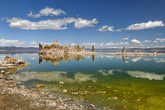 Spring Algae Bloom at Mono Lake (Jeffrey Sullivan) Tags: mono lake eouth tufa rock formation reflection clouds easternsierra monocounty leevining california sunset canon eos 6d landscape nature travel photography star trails photo copyright 2017 april jeff sullivan algae