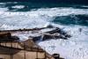 le onde si infrangono sul moletto (renmas57) Tags: argentiera sardegna molo onde mare schiuma panorama landscaoe