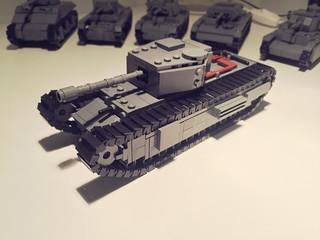 Churchill 1, Mk 3 turret and vickers 75mm Gun