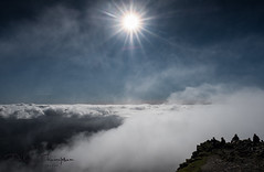Snowdon Summit (dilys_thompson) Tags: topoftheworld heaven landscape northwales wales ngc snowdon summit mountains mountain cloud sky snowdonia