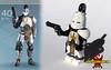 Warrior of Iron... (Saber-Scorpion) Tags: lego minifig minifigures moc brickarms brickforge destiny titan patreon rise iron banner
