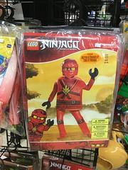 LEGO Ninjago Kai costume (splinky9000) Tags: kingston ontario halloween alley store costumes decorations lego ninjago kai
