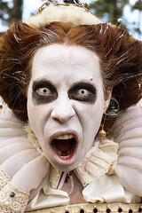 Woke Up Feeling Dead Tired...Its Halloween! (wyojones) Tags: texas texasrenaissancefestival toddmission texasrenfest renfest renfaire renaissancefaire faire renaissancefestival festival trf halloween scary allhallowseve dead livingdead zombies redhead ghostlywhite woman beautifuldead
