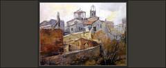 SANT FRUITÓS DE BAGES-PINTURA-TARDOR-PAISATGES-ESGLÉSIA-PARROQUIAL-MEDIEVAL-TEULADES-HISTORIA-POBLES-CATALUNYA-QUADRES-PINTOR-ERNEST DESCALS- (Ernest Descals) Tags: santfruitósdebages pintura pintures pinturas quadre cuadro quadres cuadros pintar pintando pintant paisatge paisatges poble pobles village pueblo pueblos catalans catalanes comarca bages barcelona catalunya catalonia cataluña paisaje paisajes otoño autumn tardor church església parroquial iglesia medieval medievales iglesias esglésies historia history historics historicos historicas landscaping landscape paint pictures artwirk arte art pintor pintores pintors imprresionismo impresionistas teulades tejados arboles arbres painter painters paintings painting plastica artistas plastics plasticos artistes ernestdescals artist artista cases casas