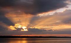 sunrise @ sandgates dock (scott1346) Tags: sunrise light beams golden reflections clouds shadow 1001nights 1001nightsmagiccity