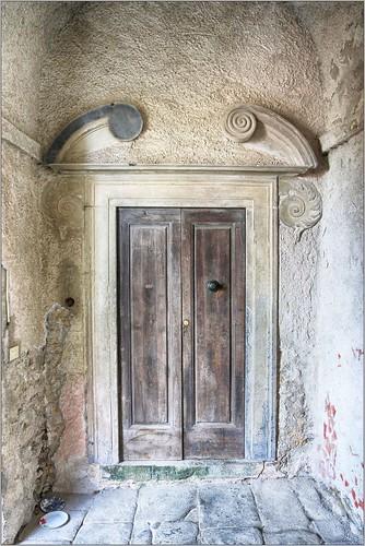 Internal Doors, Castello Malaspina, Fosdinovo, Italy