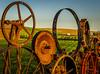 Rolling Fenceline III (keith_shuley) Tags: fence fenceline farm rust rusty washington easternwashington palouse uniontown