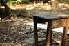Broken Desk (superzookeeper) Tags: canoneos5dmarkiv ef2470mmf28liiusm 5dmk4 5dmkiv hk hongkong yuenlong eos digital street bokeh desk abandoned ruins abandoneddesk abandonedschool school brokendesk favorites over1000views