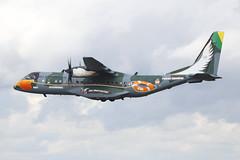 2811 Fairford 20/07/09 (Andy Vass Aviation) Tags: fairford casa235 2811 brazilianairforce